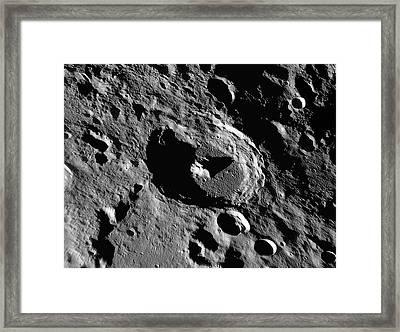 Lunar Crater Piccolomini Framed Print