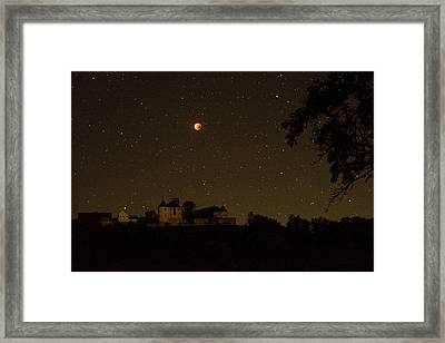 Lunar Eclipse Framed Print by Eckhard Slawik