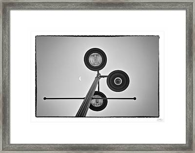 Lunar Lamp - Art Unexpected Framed Print by Tom Mc Nemar