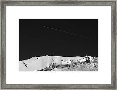 Lunar Landscape Framed Print