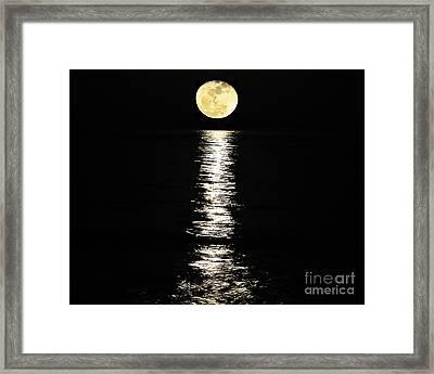 Lunar Lane 02 Framed Print