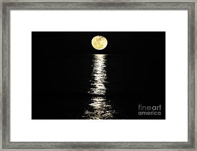Lunar Lane Framed Print by Al Powell Photography USA