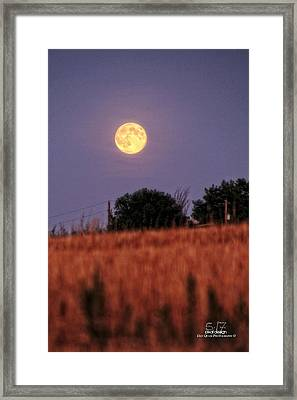 Lunar Light Lifting Framed Print by Dan Quam