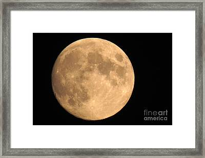 Lunar Mood Framed Print