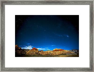 Lunar Revelation Framed Print