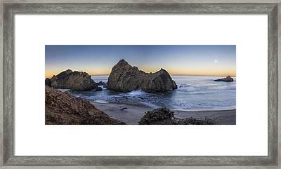 Lunar Solar Exchange Framed Print