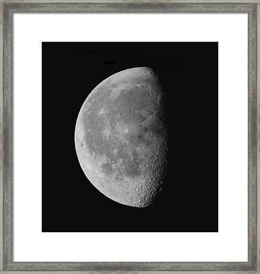Luna's Beauty II. Framed Print