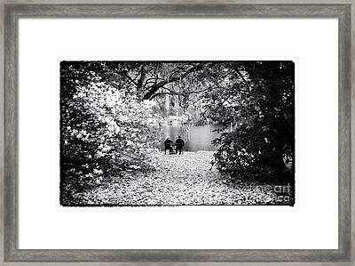 Lunch At Charles Towne Framed Print by John Rizzuto