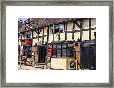 Lunch At The Roebuck Framed Print