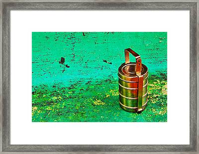 Lunch Box Framed Print