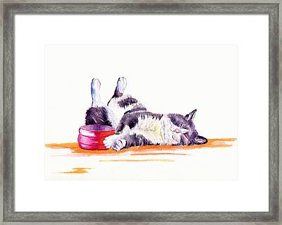 Lunch Break Framed Print
