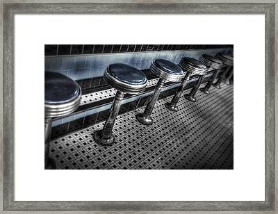 Lunch Counter Framed Print