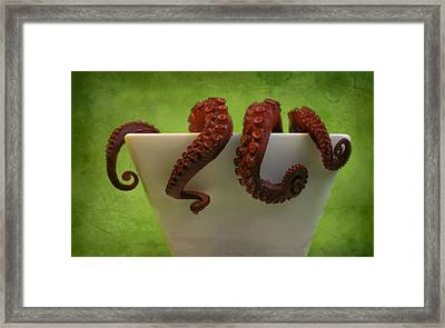 Lunch Framed Print by Karen Walzer
