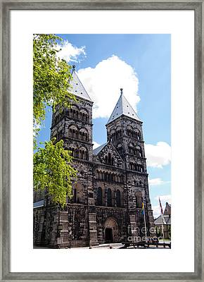 Lund Cathedral 01 Framed Print by Antony McAulay