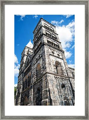 Lund Cathedral 02 Framed Print by Antony McAulay