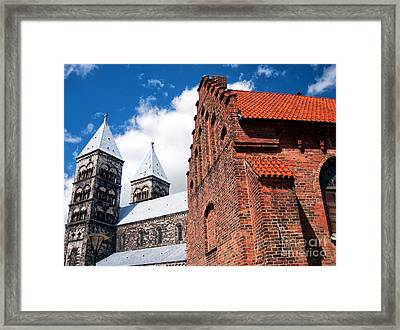 Lund Cathedral 03 Framed Print by Antony McAulay