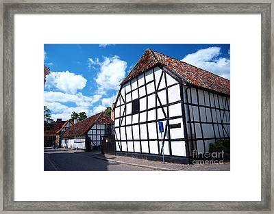 Lund Old Building 01 Framed Print by Antony McAulay