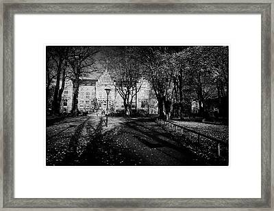 Lund University Framed Print by Georgia Fowler