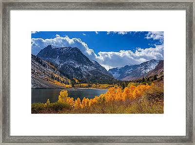 Lundy Lake Framed Print