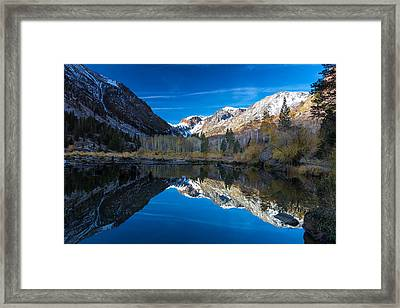 Lundys Reflection Framed Print