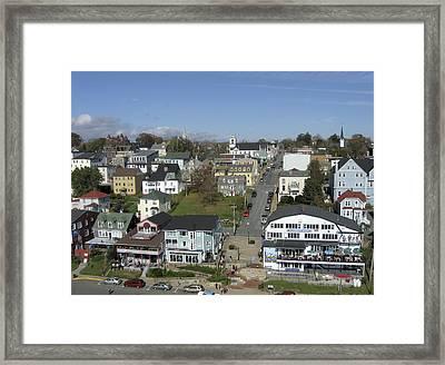 Lunenburg, Nova Scotia Framed Print