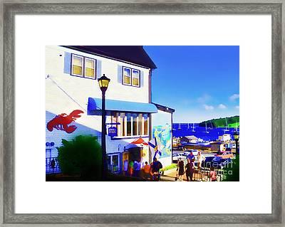 Lunenburg Vista View Framed Print by Patricia L Davidson