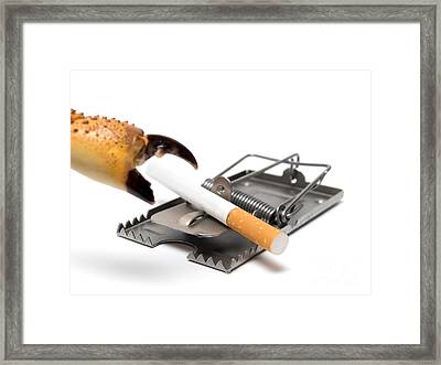 Lung Cancer Prevention Framed Print by Sinisa Botas