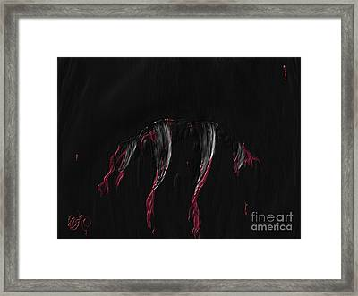 Framed Print featuring the painting Lupercalia  by Roxy Riou