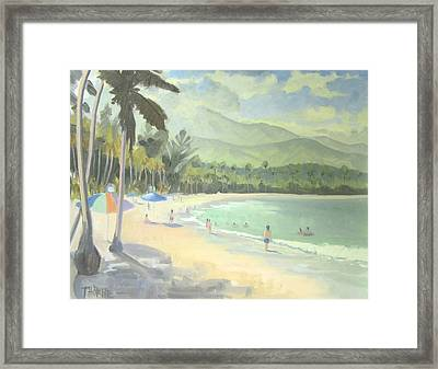 Luquillo Beach Framed Print by Marcus Thorne