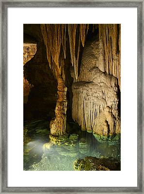 Luray Cavern Framed Print