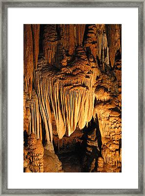 Luray Caverns - 1212109 Framed Print by DC Photographer