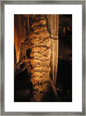 Luray Caverns - 1212122 Framed Print by DC Photographer