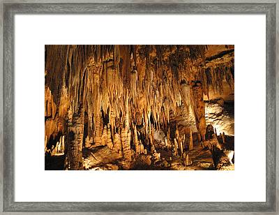 Luray Caverns - 1212134 Framed Print by DC Photographer