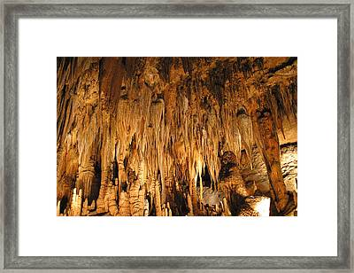 Luray Caverns - 1212136 Framed Print by DC Photographer