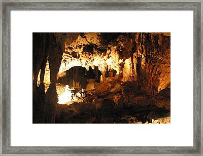 Luray Caverns - 1212162 Framed Print by DC Photographer