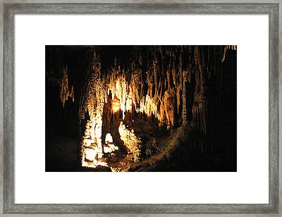 Luray Caverns - 121226 Framed Print by DC Photographer