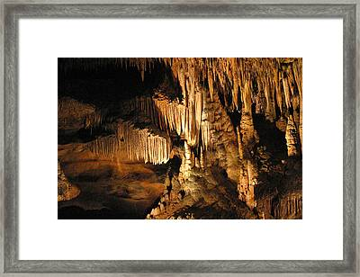 Luray Caverns - 121250 Framed Print by DC Photographer