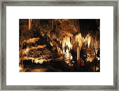 Luray Caverns - 121261 Framed Print by DC Photographer