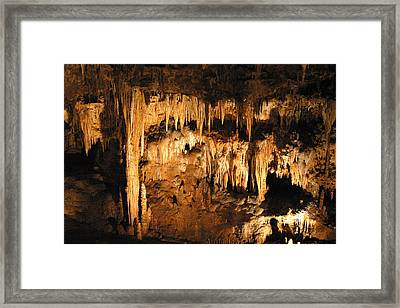 Luray Caverns - 121262 Framed Print by DC Photographer