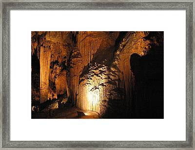 Luray Caverns - 121280 Framed Print by DC Photographer