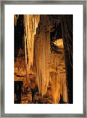 Luray Caverns - 121289 Framed Print by DC Photographer