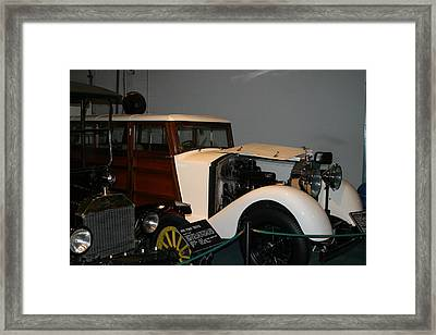 Luray Caverns - Car Museum - 12122 Framed Print by DC Photographer