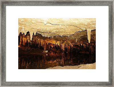 Luray Caverns Framed Print
