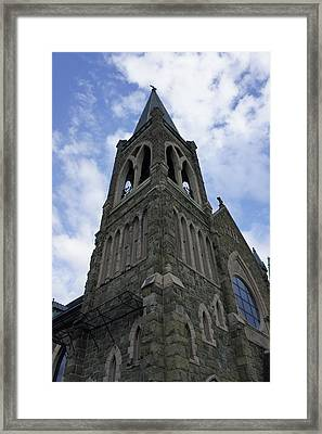 Framed Print featuring the photograph Luray Chapel by Laurie Perry