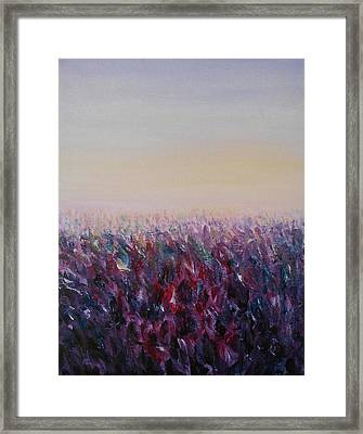 Luscious Framed Print by Jane  See