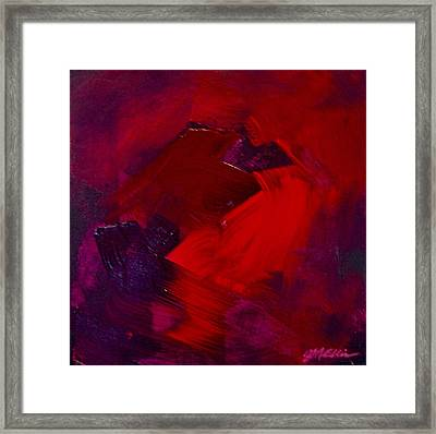 Lush Reds Framed Print