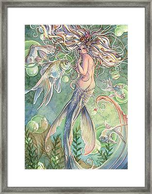 Lusinga Framed Print by Sara Burrier