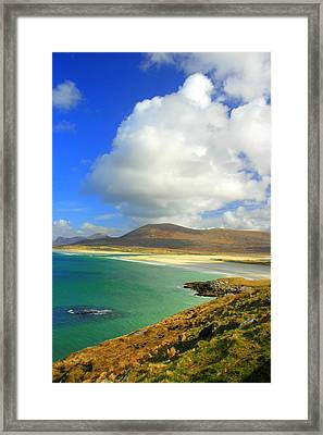 Luskentyre Beach  Framed Print by The Creative Minds Art and Photography