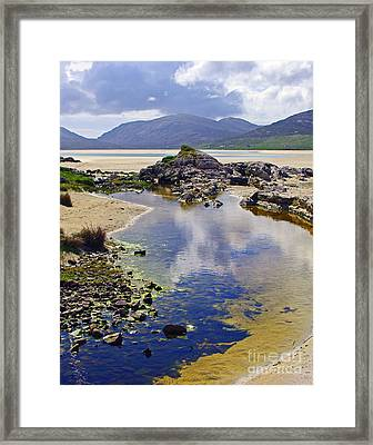 Framed Print featuring the photograph Luskentyre Dream by Jacqi Elmslie