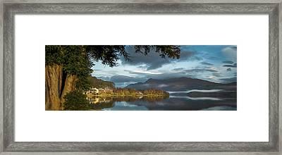 Luss Loch Lomand Framed Print